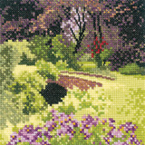 Hidden Bridge cross stitch chart by John Clayton