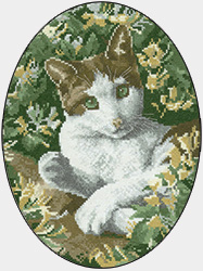 Red Setter Cross Stitch Chart from The John Stubbs Edition by Heritage Crafts cross stitch pattern counted cross stitch chart