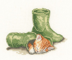 Puss in Boot cross stitch