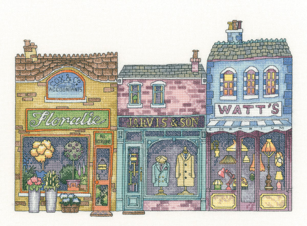 High Street Cross Stitch