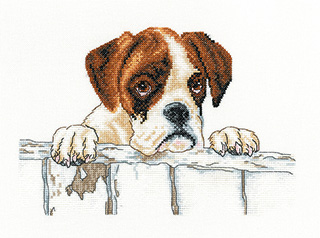 Bailey Cross Stitch by Villager Jim