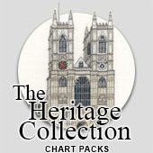 Heritage Collection cross stitch charts