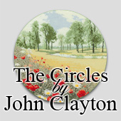 Circular counted cross stitch designs by John Clayton