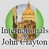 International cross stitch designs by John Clayton