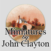 John Clayton Cross Stitch Miniatures
