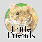 Little Friends cross stitch kits