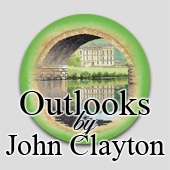 Counted cross stitch Outlooks by John Clayton