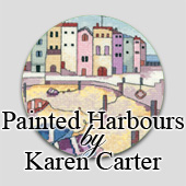 Painted Harbours cross stitch