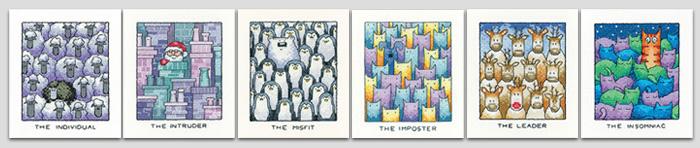 cats rule range Catz /& Co Cross Stitch Kit cross stitch Heritage Crafts Butterfly needleworkit Flutterbys counted cross stitch kit